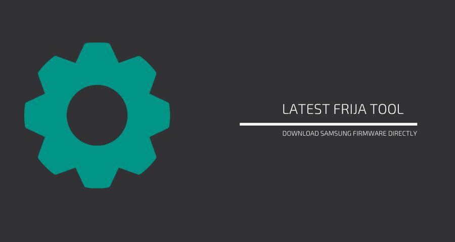 download latest frija tool
